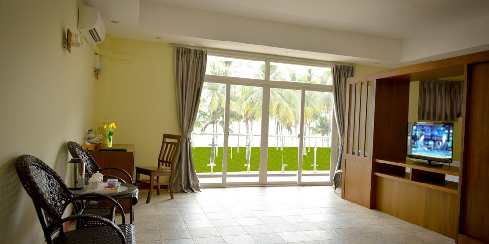 Sea View Deluxe Triple Room