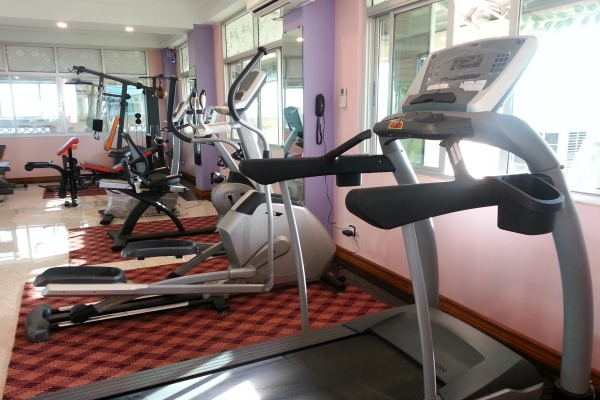 Gym for in-house guests